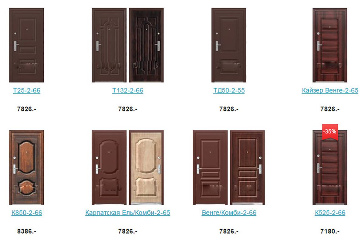 Стальные металлические двери Китай в Щелково