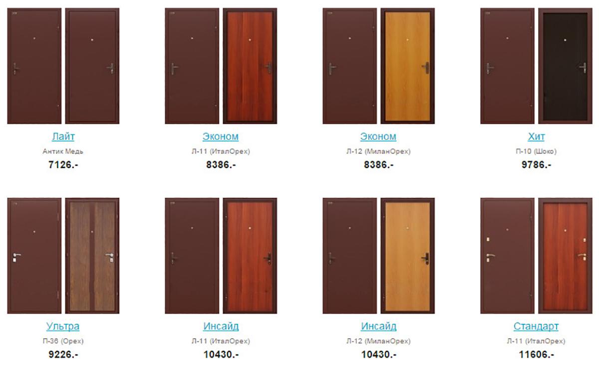 сстальные двери Щелково