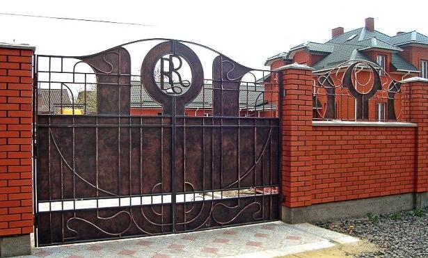 кованые ворота Щелково